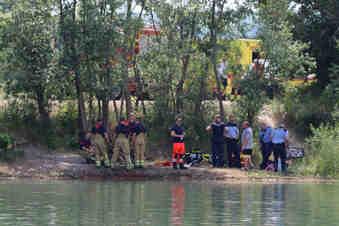 Leiche aus Kiessee in Dresden identifiziert