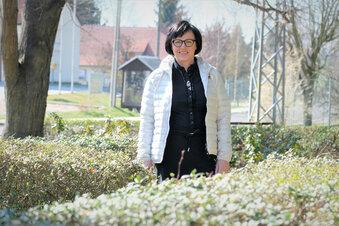 Eine Frau kandidiert für Bürgermeister-Amt