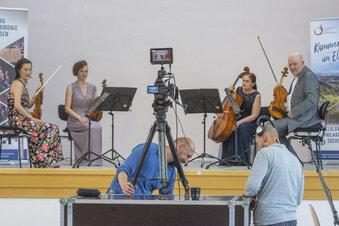 Riesaer Konzert mit zwei Zuschauern