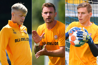 Das sind Dynamos drei Gewinner der Vorbereitung
