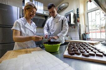 Hochsaison in der Weihnachtsbäckerei
