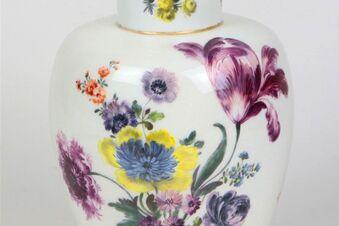 Vase mit Monogramm August des Starken aufgetaucht