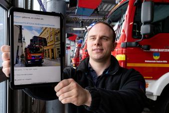 Feuerwehr Bautzen bei Corona-Aktion dabei