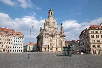 Dresden-Touristen: Zahl mehr als halbiert