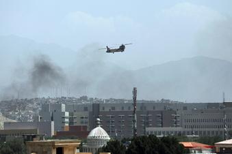 Sorgenvolle Blicke nach Afghanistan