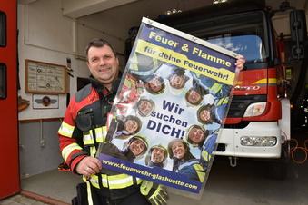 Feuerwehr Glashütte startet Werbeaktion