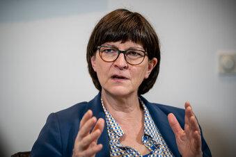 Saskia Esken sprengt den Burgfrieden in der SPD