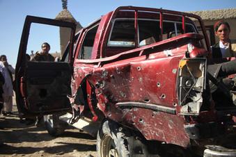 Nach Abkommen: USA greifen Taliban an