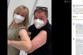 Impfgegner gegen Thomas Böttcher