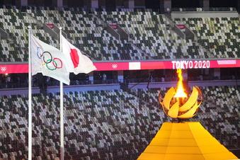 Olympia in Tokio offiziell eröffnet