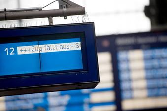 Bahnstreik: Das müssen Kunden in Sachsen heute wissen