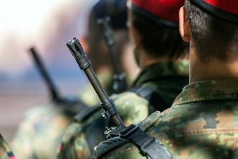 Waffen und Munition bei Soldat gefunden