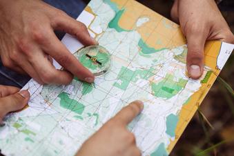 Tolle Touren kompakt auf einer Karte