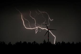 Warnung vor starken Gewittern in Sachsen