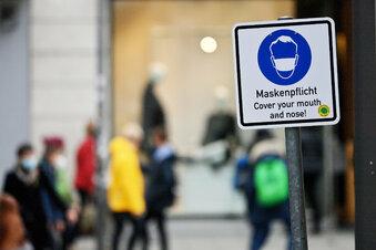 Dresden kontrolliert Maskenpflicht
