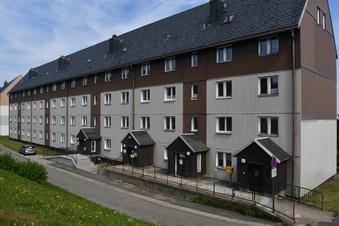 Neue Balkone für Altenberger WVG-Häuser