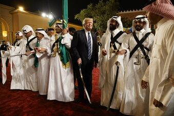 Trumps letzte internationale Show?
