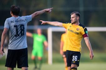 Dynamo gewinnt Test gegen Freital klar