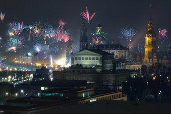 Der beste Blick auf Sachsens schönstes Feuerwerk