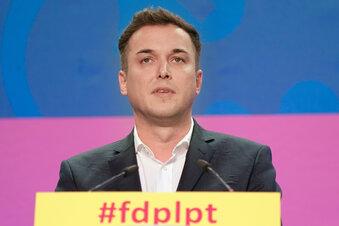 Sachsen: FDP-Generalsekretär tritt zurück