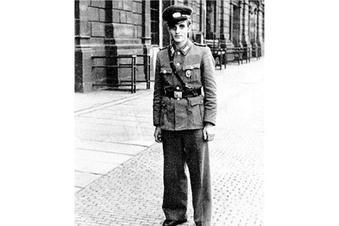 An der Berliner Mauer erschossen