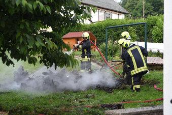 Illegales Feuer am Breiteberg
