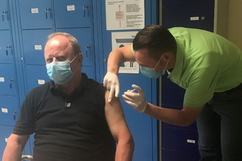 Impfstart in Gröditzer Schmiedewerken