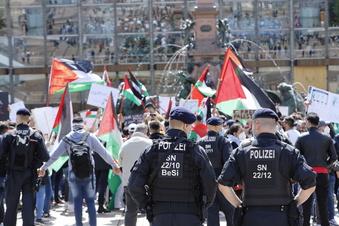 Demos gegen Gewalt in Nahost in Leipzig