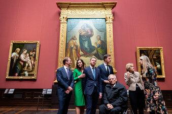 Gemäldegalerie Alte Meister öffnet feierlich