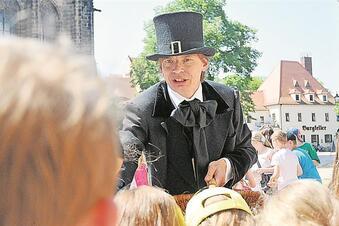Hans Christian Andersen zu Besuch auf der Albrechtsburg