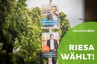 Live-Wahlforum zur Riesaer OB-Wahl