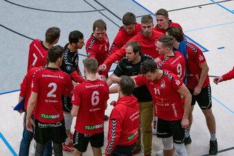Dresdens Volleyballer mit Corona-Auszeit