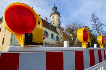 Ulbersdorf: Brücke und Straße gesperrt