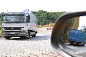 Lkw-Verbot auf dem Plossen?