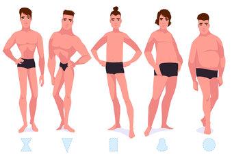 Männer und ihr etwas falscher Blick auf sich selbst