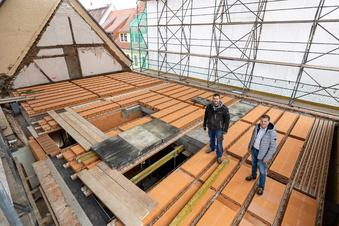 Altes Stadthaus in Dipps neu aufgebaut