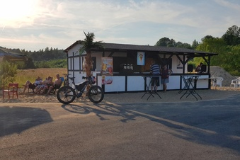 Neue Grillbar am Berzdorfer See eröffnet