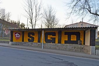 Sprühkunstwerk statt Ultra-Graffiti