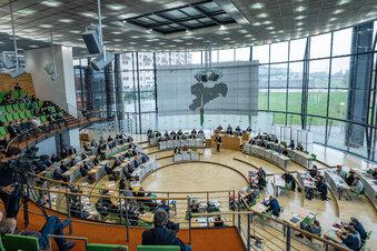 AfD verhindert Notbetrieb im sächsischen Landtag