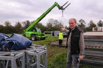 Sarrasani-Zelt wird wieder aufgebaut