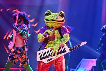 """""""Masked Singer"""": Der Frosch geht baden"""