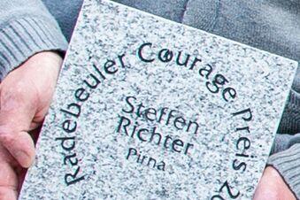 Couragepreise werden verliehen