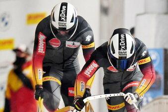 Friedrich gewinnt Zweierbob-Weltcup