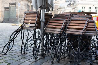 Leere Stühle, leere Kassen