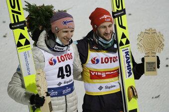 Wie Sven Hannawald und Martin Schmitt