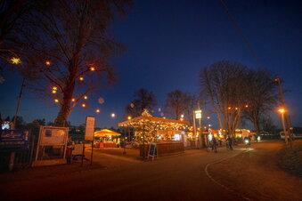 Gebremster Spaß im Dresdner Corona-Advent