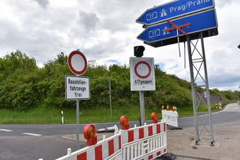 A17-Auffahrt bleibt länger gesperrt