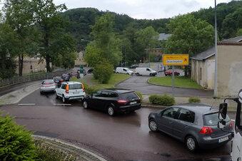 Hupkonzert am Waldheimer Wertstoffhof