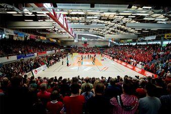 Braucht die Margon-Arena ein neues Dach?