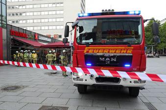 Grill in Dresdner Imbiss wird viel zu heiß